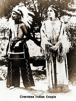 Gary Wonning - Cherokee Indian Couple