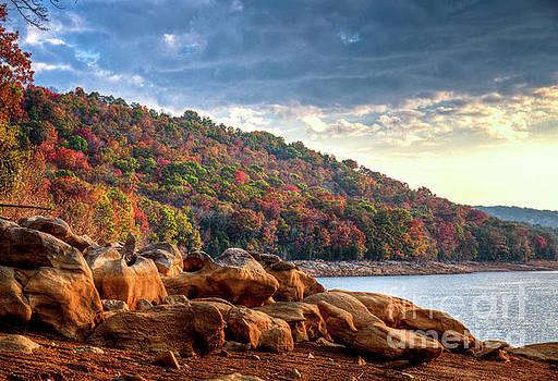 Cherokee Lake Color II by Douglas Stucky