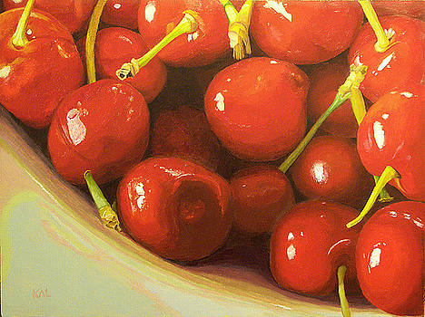 Cherries a la Carder by Kathy Lumsden