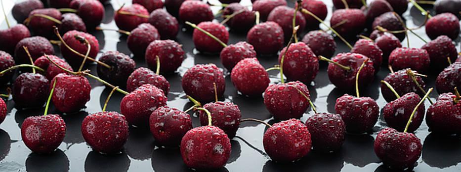 Cherries Cherries Cherries by Steve Gadomski