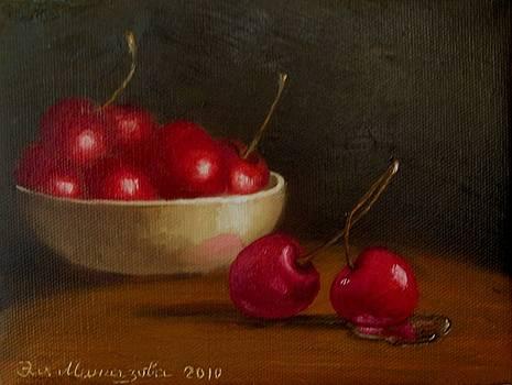 Cherries by Eleonora Mingazova