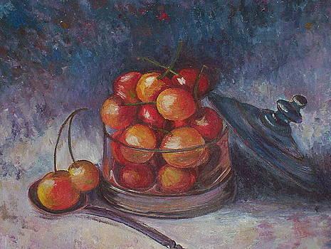 Cherries by Ewa Smyczynska