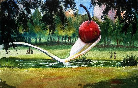 Marilyn Jacobson - Cherry and Spoon