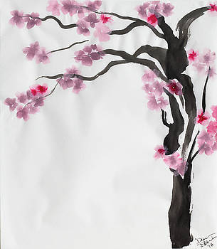 Cherry Blossom 2 by Dean Italiano