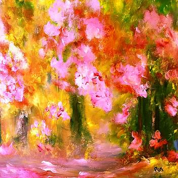 Cherry Blossom Forest by Patricia Taylor