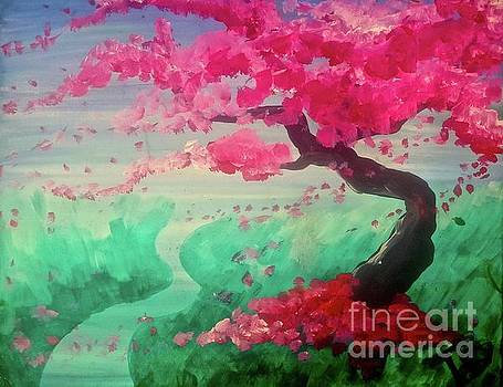 Cherry Blossom Trail by Tony B Conscious