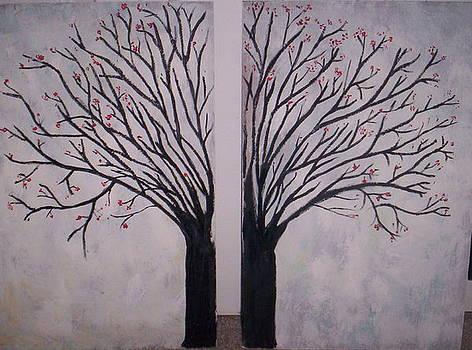 Cherry Blossom Tree by Becca Haney