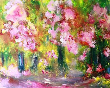 Cherry Blossom Trees by Patricia Taylor