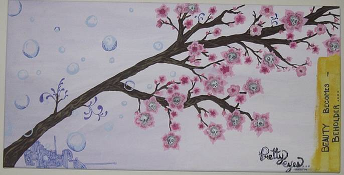 Cherry Blossoms by Violet Oreilley