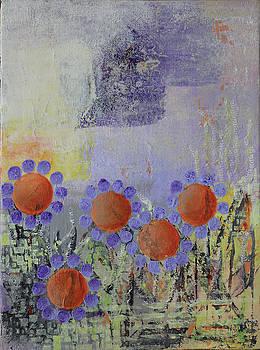 Cheery Flowers by April Burton