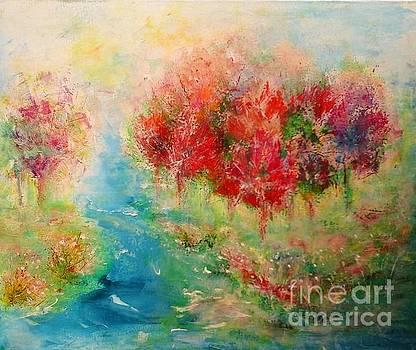 Cherry Orchard by Elena Ivanova