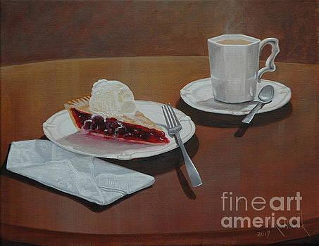 Cherry pie alamode by Michael Nowak