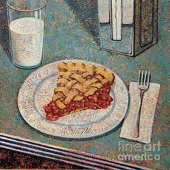 Cherry Pie at the Diner by John Knotts