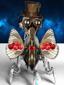 Cherry Robot 5 Art by Marvin Blaine