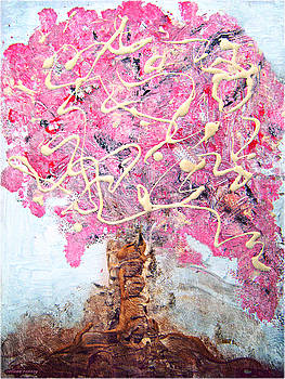 Cherry Tree by Colleen Ranney by Colleen Ranney