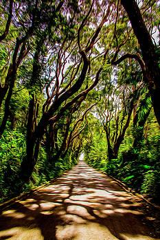 Cherry Tree hill by Stuart Manning