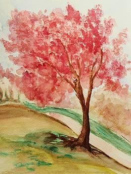 Cherry Tree by Julie Lourenco