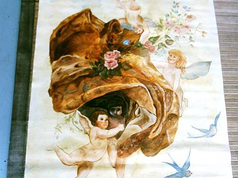 Cherubs In Flight by Carolyn Sylvester