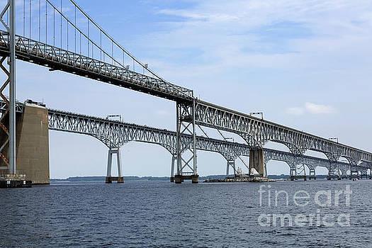 Chesapeake Bay Bridge by Louise Heusinkveld