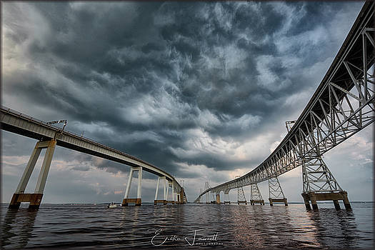 Erika Fawcett - Chesapeake Bay Bridge Storm