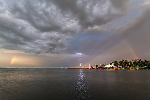 Chesapeake Bay Rainbow Lighting by Jennifer Casey
