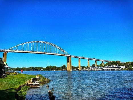 Chesapeake City Bridge  by Chris Montcalmo