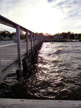 Chesapeake Fishing Pier by Christopher Spicer