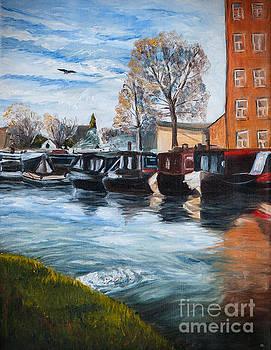 Cheshire boats by Katerina Kopaeva