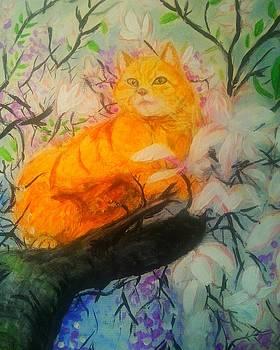 Cheshire cat by Mark Bradley