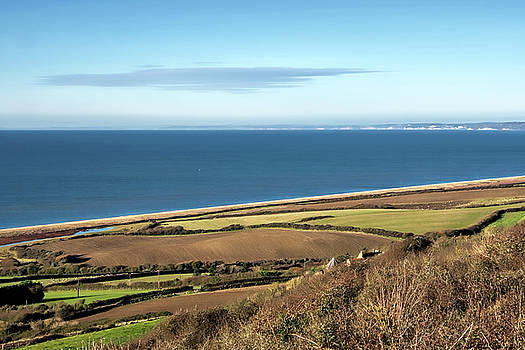 Chesil Bank Overview - Dorset by Susie Peek