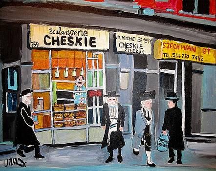 Cheskie Haimishe Bakery Bernard by Michael Litvack