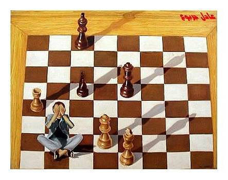 Chess by Adel Jarbou