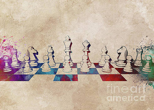 Chess Art by Justyna JBJart