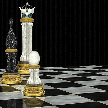 Chess Game by Digital Art Cafe
