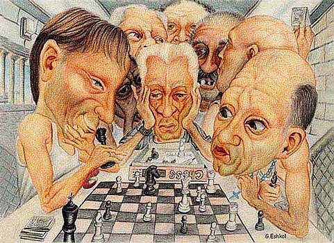 Chess Game by Giora Eshkol