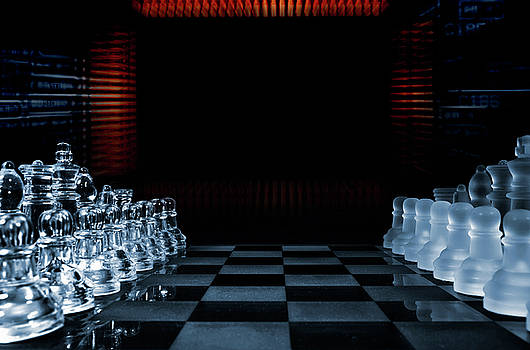 Chess Game Performed By Artificial Intelligence by Christian Lagereek