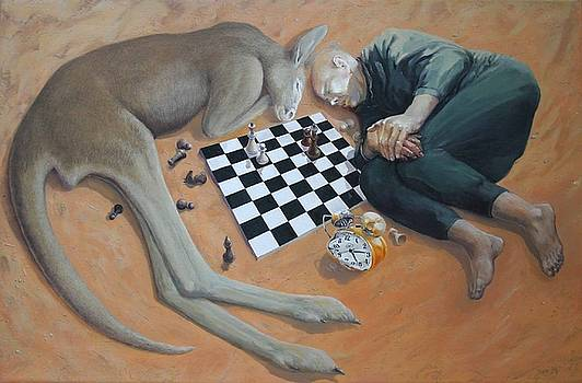 Chess Game by Valeriu Buev