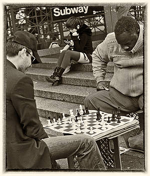 Chess Lower Manhattan by Steve Archbold