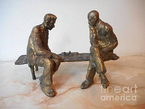 Chess players by Nikola Litchkov