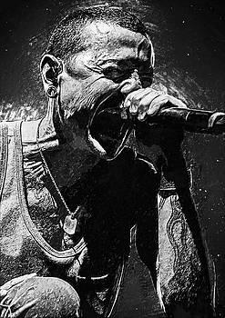 Chester Bennington by Taylan Apukovska