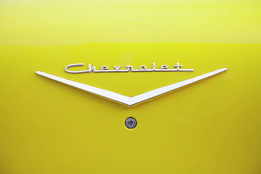 Chevrolet Bel Air in Yellow by Toni Hopper