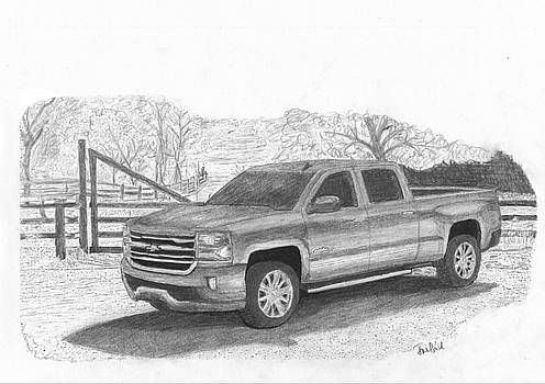 Chevrolet truck by Kokas Art