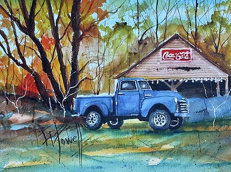 Chevy Autumn by George Powell