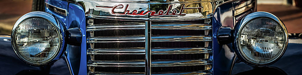 Chevy chrome grill by Geoff Mckay