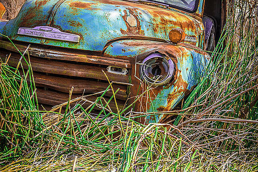 Chevy In The Reeds by Steven Bateson