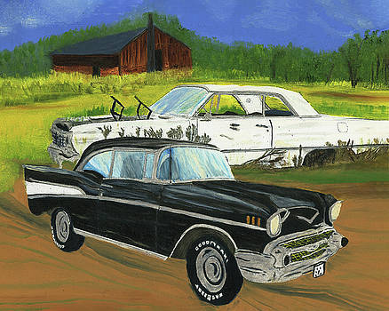 Chevy Meetup by Judy Huck