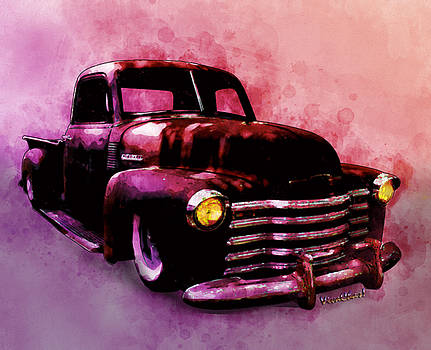 Chevy Rat Rod Pickup Pop Stand by Chas Sinklier