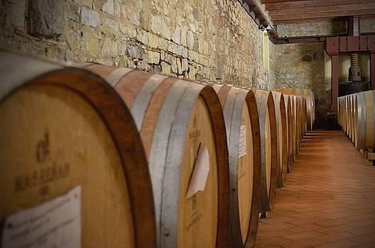 Chianti Wine Cellar by Chris Alberding