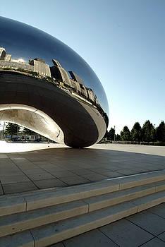 Chicago - Cloud Gate Reflection by Dmitriy Margolin