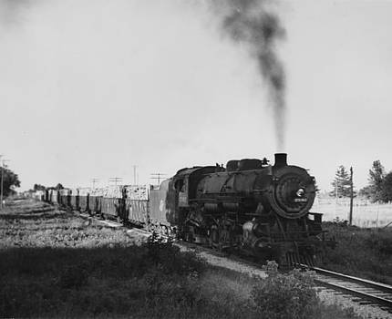 Chicago and North Western Historical Society - Class J 2-8-2 Steam Engine
